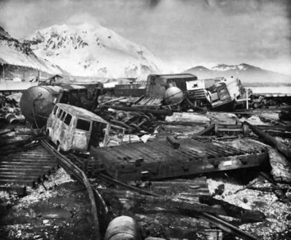 Kamchatka Earthquake, 1952 pictures