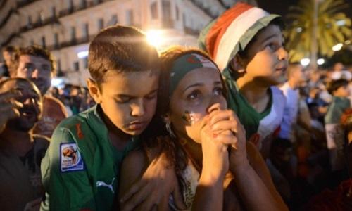 APTOPIX Algeria Soccer WCup