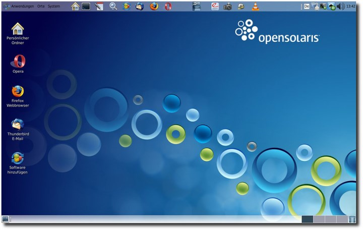 Open Solaris Desktop