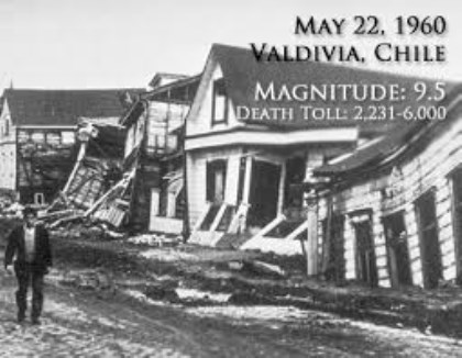 Valdivia Earthquake, 1960 pictures