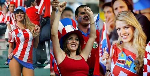 Most Beautiful Womens Of FIFA 2014 World Cup