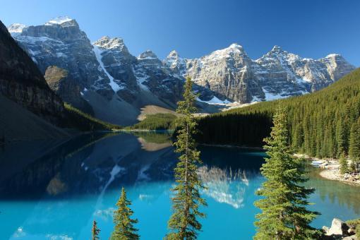 banff_national_park Mountains of Banff Canada