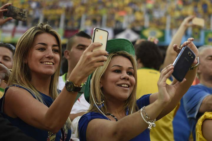 cute fans of fifa 2014-world-cup-fans