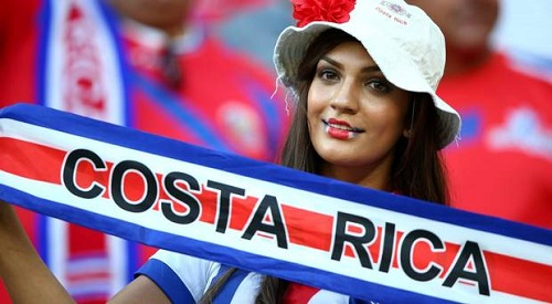 hottest costa rica fan Lovely Expressions at fifa 2014 World cup
