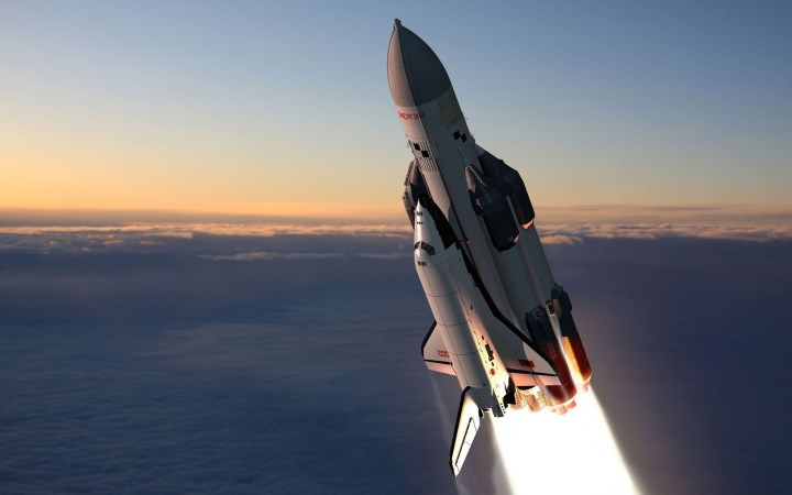 Space Shuttle hd wallpaper