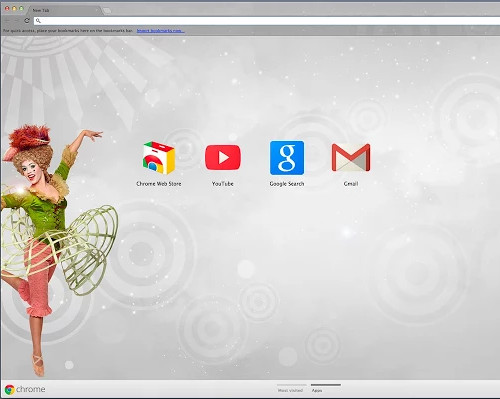 circus-inspired-theme for chrome browser