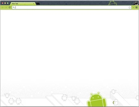 droid-theme for chrome browser