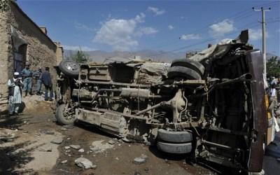 Kabul, Afghanistan violence