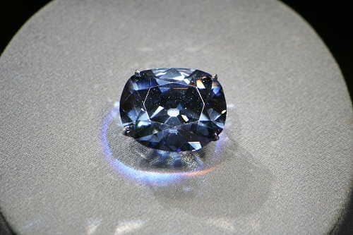 Top 10 Expensive Diamonds in the World Hope Diamond with Lighting