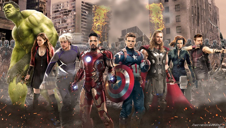 Top 10 Highest Grossing Movies of 2015 avengers age of ultron