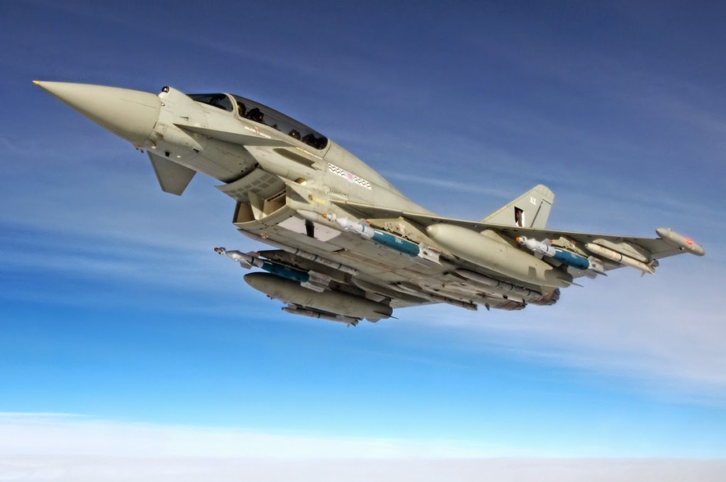 Top Ten Best Fighter Jets in the World Euro-fighter Typhoon