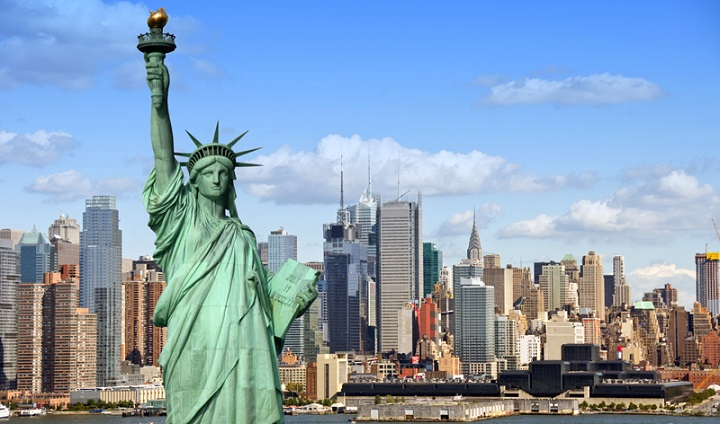 Top Ten Most Powerful Countries in the World USA new-york-cityscape-large
