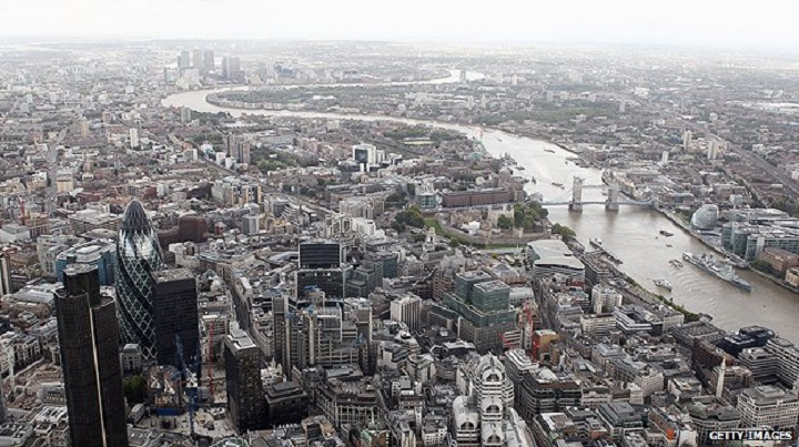 Top Ten Most Powerful Countries in the World _uk_london-city-aerial